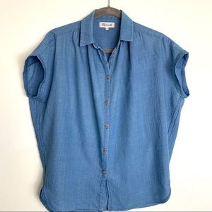 Madewell Denim Central Shirt  XS
